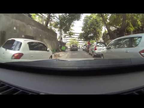 Driving in Jakarta
