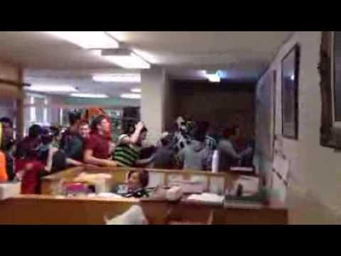 Adar Dancing at Fasman Yeshiva High School 5774