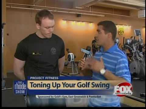 Project Fitness: Golf exercises