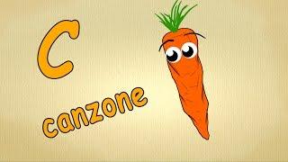 alfabeto italiano pronuncia - C Canzone - alfabeto canzone per bambini
