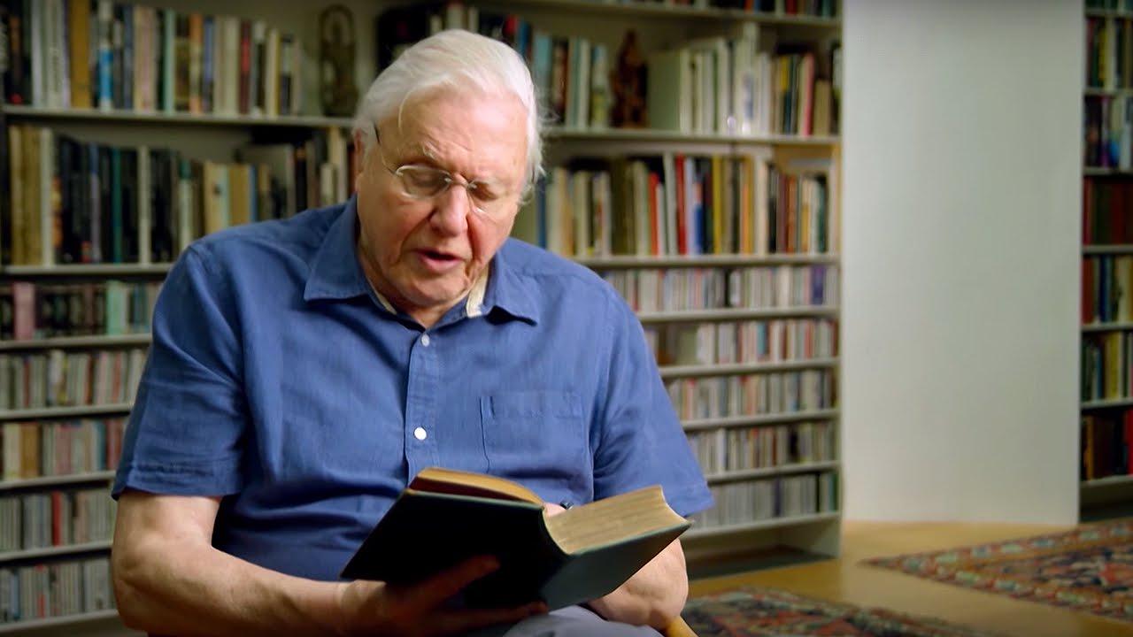 Sir David Attenborough Reads Charles Darwin - # ...