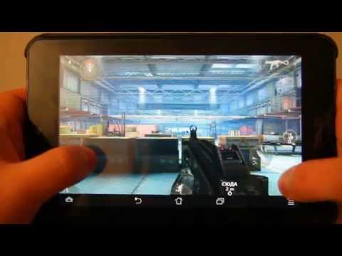 Modern Combat 3: Fallen Nation - видеообзор на планшете Android