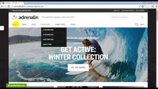 Adrenalin - Multi-Purpose WooCommerce Theme Preview