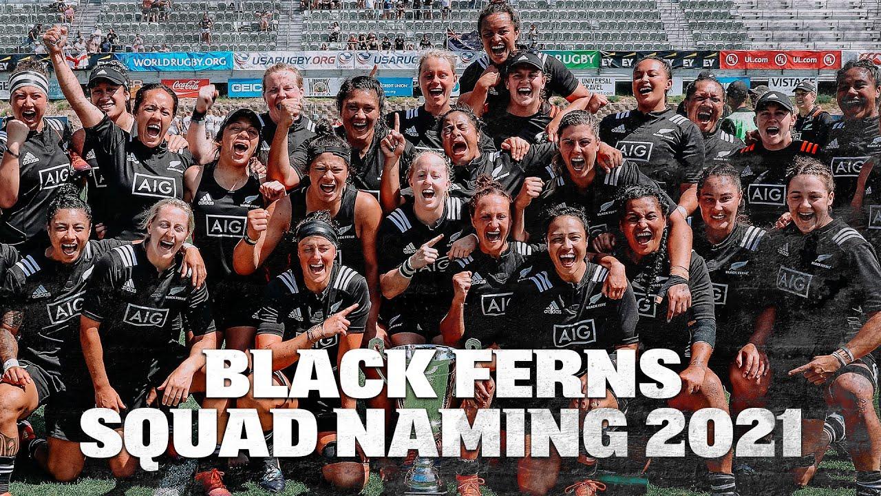 Download Black Ferns squad naming for 2021 Northern Tour