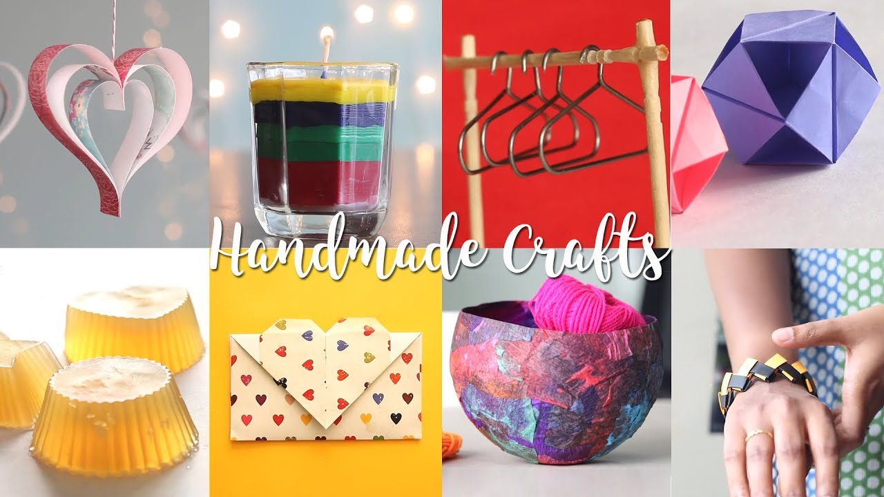 Handmade Craft Ideas Youtube