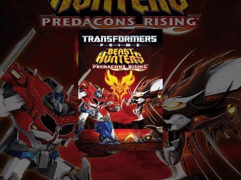 Transformers Prime Beast Hunters Predacons Rising Dublado