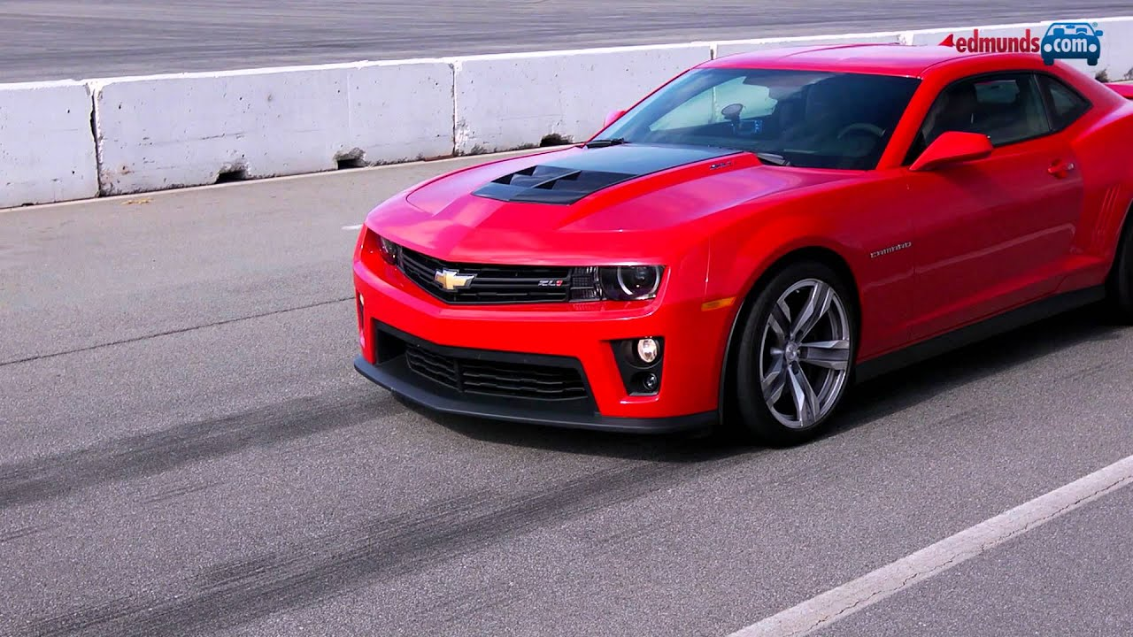 Shelby Gt500 Vs Camaro Zl1 Track Tested Edmunds Com