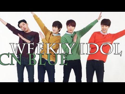 140326 Weekly Idol CN BLUE pt.2 [polskie napisy, polish subs][PL]