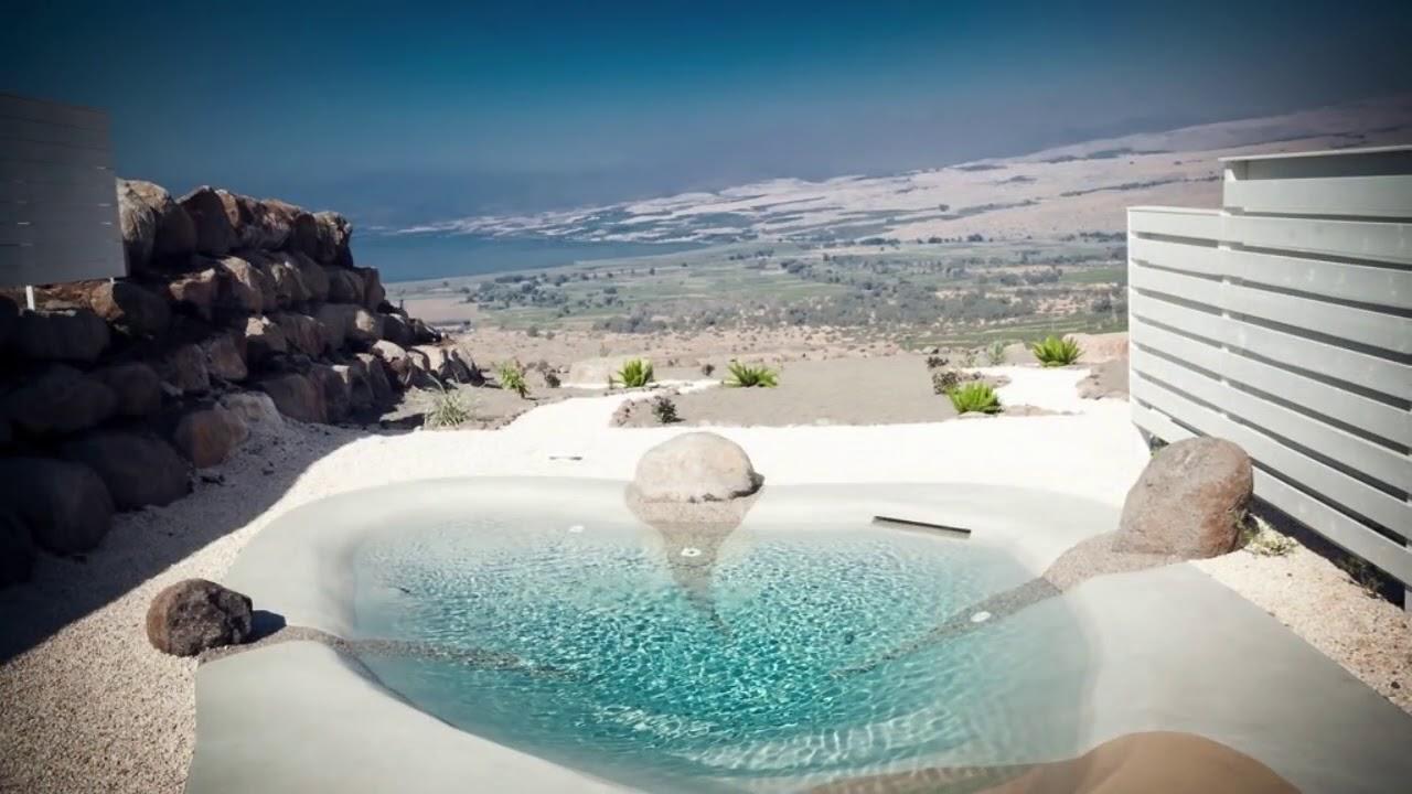 realizzazione piscine biodesign terrazzi & giardini foggia - YouTube