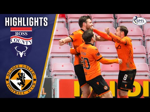 Ross County Dundee Utd Goals And Highlights
