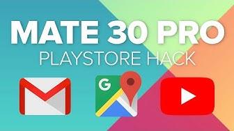 Huawei Mate 30 Pro: Google-Apps und Play Store installieren