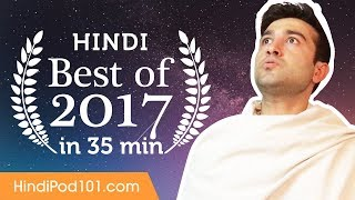 Learn Hindi in 35 minutes The Best of 2017