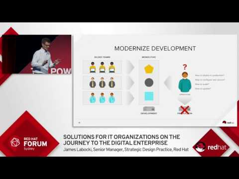 Highlights from Red Hat Forum Sydney 2016: James Labocki
