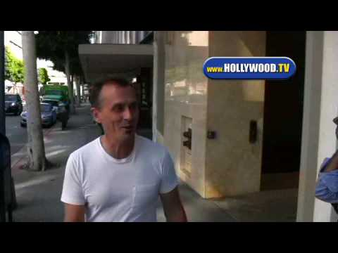 Robert Knepper On Roxbury In Beverly Hills.