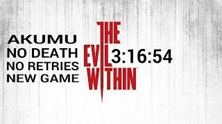 The Evil Within Speedrun Akumu No Death New Game 3:16:54