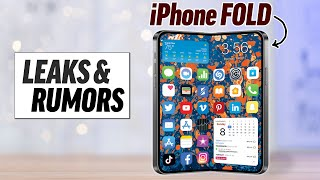 The Foldable iPhone is ACTUALLY COMING! (Leaks & Rumors)