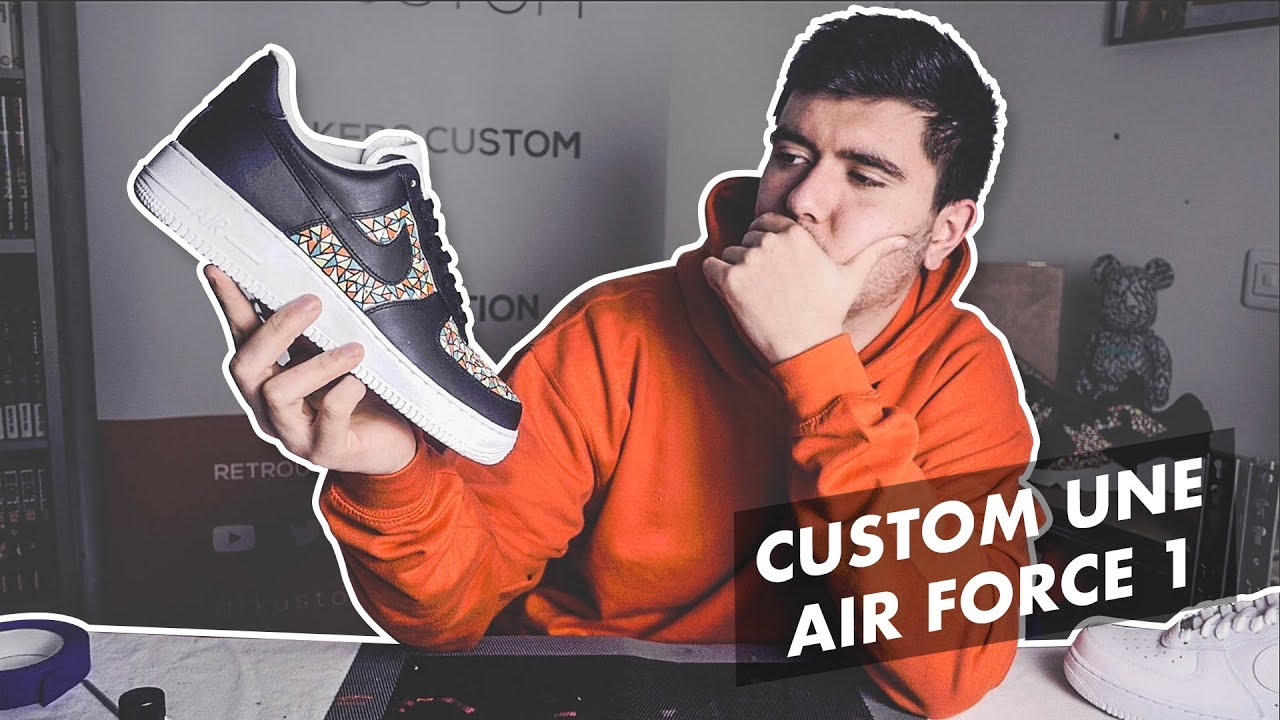 nike air force 1 homme customiser