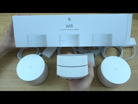 Google WiFi Unboxing and Setup