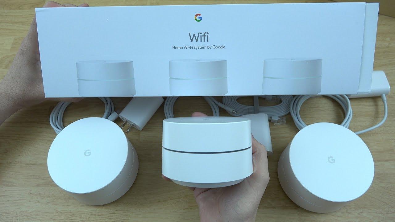 Google Wifi Unboxing And Setup Youtube