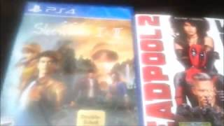 Shenmue 1 & 2 (PS4) + Deadpool 2 Blu-Ray Unboxing