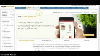 How to add  Amazon Native Shopping Ads in your Affiliate Blog