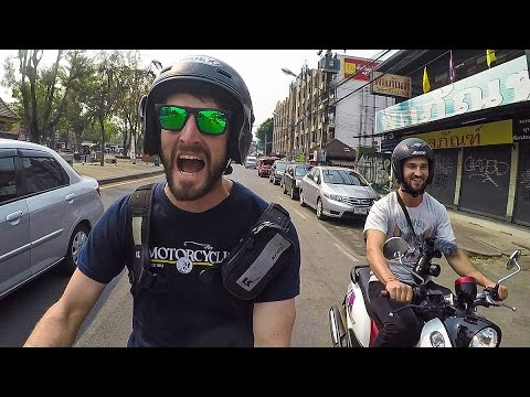 Riding Scooters in Chiang Mai, Thailand | On Two Wheels Behind the Scenes