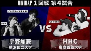 大学対抗MC BATTLE日本一決定戦『UNIRAP』バトル動画を公開! 勝敗結果↓...