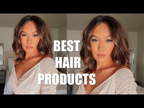 STYLING MY NEW HAIR + MY FAVORITE HAIR PRODUCTS | Marie Jay thumbnail