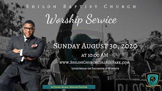 Shiloh Baptist Church: August 30, 2020