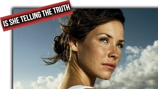 I have questions about Evangeline Lilly's LOST claims...