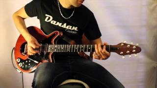 DANSAN GUITARS - Brian May Red Special replica