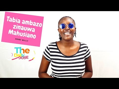 Tabia ambazo zinauwa Mahusiano