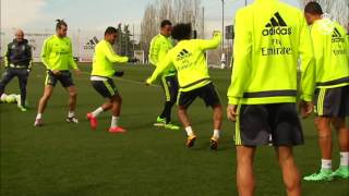 Real Madrid speed and agility