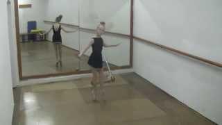 DOLL ballet (play around ), Spanish ballerina 9 age