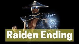 RAIDEN ENDING - INJUSTICE 2 - DEFEAT BRAINIAC AWESOME PS4/XBOX ONE