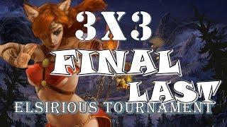 3vs3 Elsirious TOURNAMENT Final Заключительная Prime World