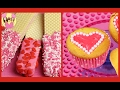 ❤️ BEST OF VALENTINES RECIPES kids Wafer cookies Marshmallow treats Pearl Heart Cupcakes Oreo pops