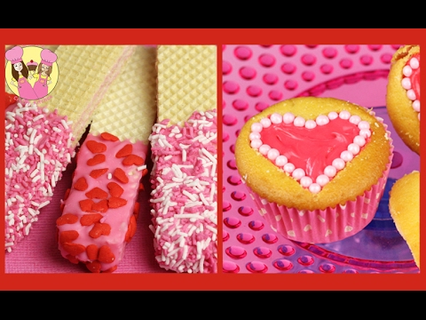 Best Of Valentines Recipes Kids Wafer Cookies Marshmallow