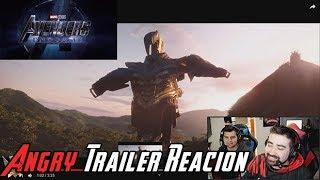 Avengers: Endgame Angry Trailer Reaction!