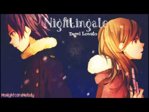 Nightingale  Nightcore   Demi Lovato