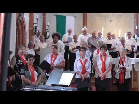 Aufstehen neue Wege gehen  Konzert Projektchor Aktuell Namborn