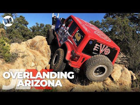 JL-EXPERIENCE : REUNION 1st Annual Jeep JL Wrangler Nitto JLX  PART 3 - Overlanding in Arizona