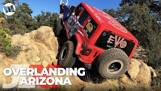 Jeep JL Wranglers Overlanding Across Arizona on Nitto JL-Experience : JLX REUNION - Part 3