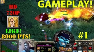 ★DoTa 6.83d Invoker - GamePlay | Guide★ 8000 Points, Hard Game! ★ #1