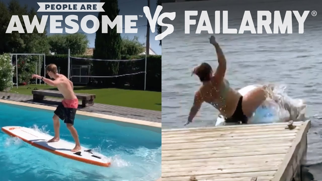 Surf's Up! | People Are Awesome Vs. FailArmy