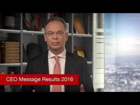 Wienerberger CEO Message on the results of the year 2016