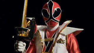 First Red Super Samurai Morph