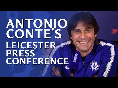 Antonio Conte Press Conference | Leicester v Chelsea