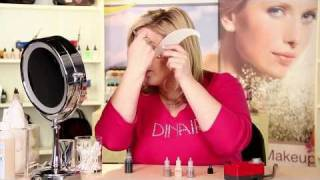 Eye Shadow Instructions For Dinair Airbrush Makeup