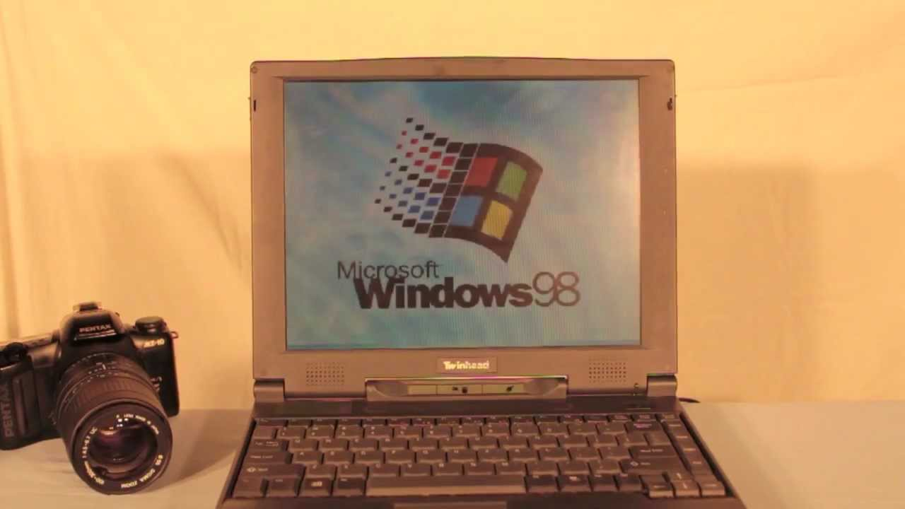 Old Windows 98 Laptop Review! W. Fun and Antics! 90's ...